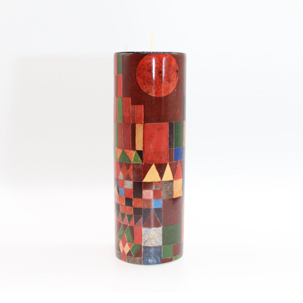 Ceramic Tea Light Klee- Castle and Sun