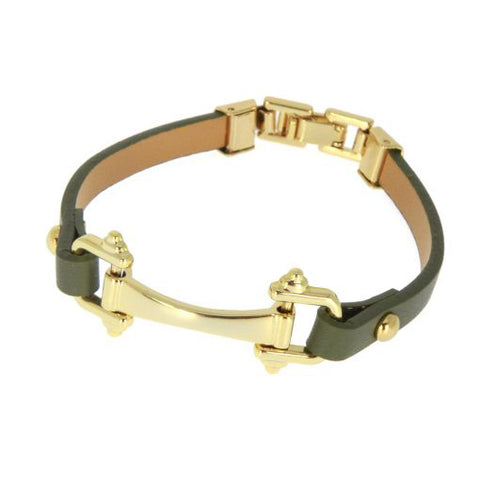 Les Cleias Bracelet Clic Leather