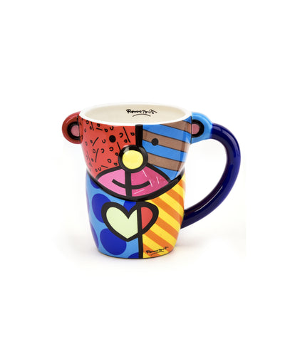 Romero Britto Figural Animal Mug - Bear