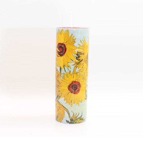 Ceramic Tea Light Van Gogh Sunflowers