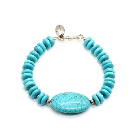 Sterling Silver Bracelet Turquoise
