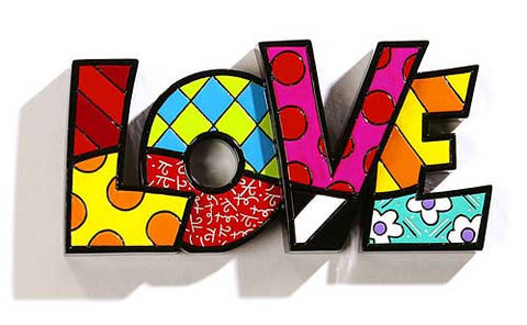Romero Britto Word Love