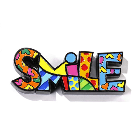 Romero Britto Mini Word Smile