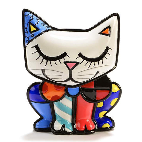 Romero Britto mini cat figurine