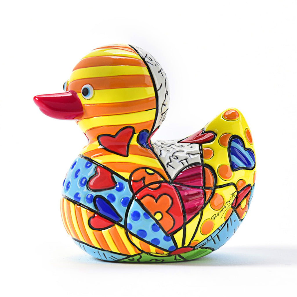 Romero Britto Mini duck A new Day