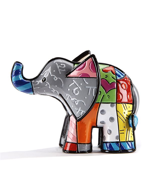 Romero Britto 3D Mini Figurine Elephant 2