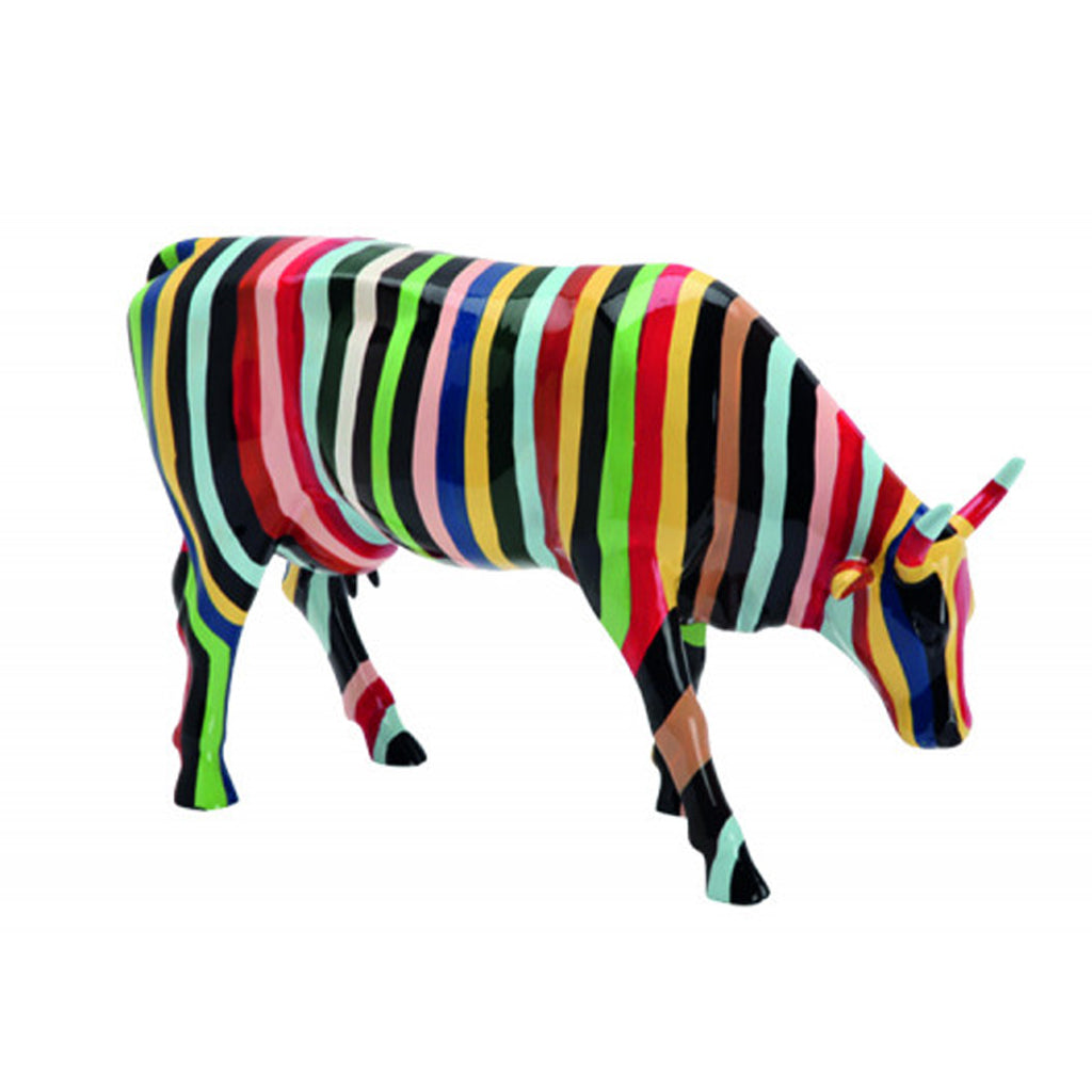 "Cow Parade Large ""Striped"""