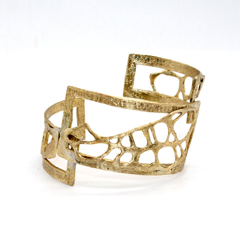 Opus Bangle Bronze Filigree