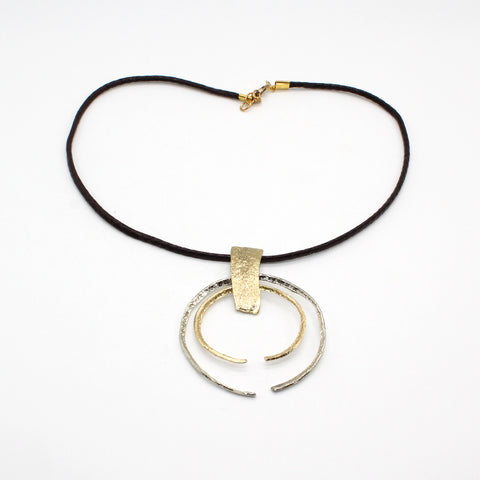 Opus Necklace Bronze