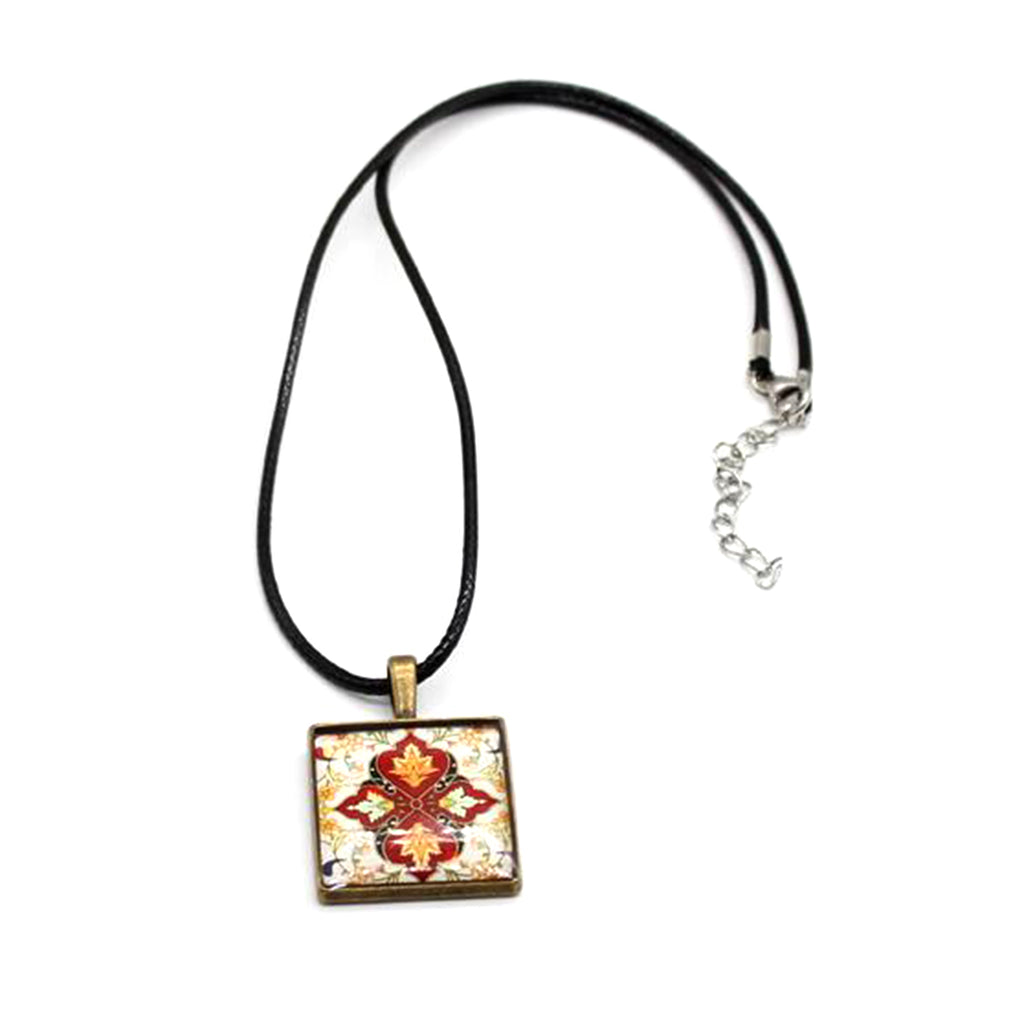 Handcrafted Necklace Arabian Geometric Art