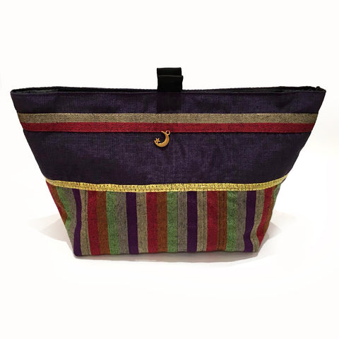N Pouch Tota Purple Large