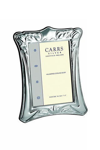 Traditional Sterling Silver Frame 18 cm H X 13 cm W by Carrs of Sheffield