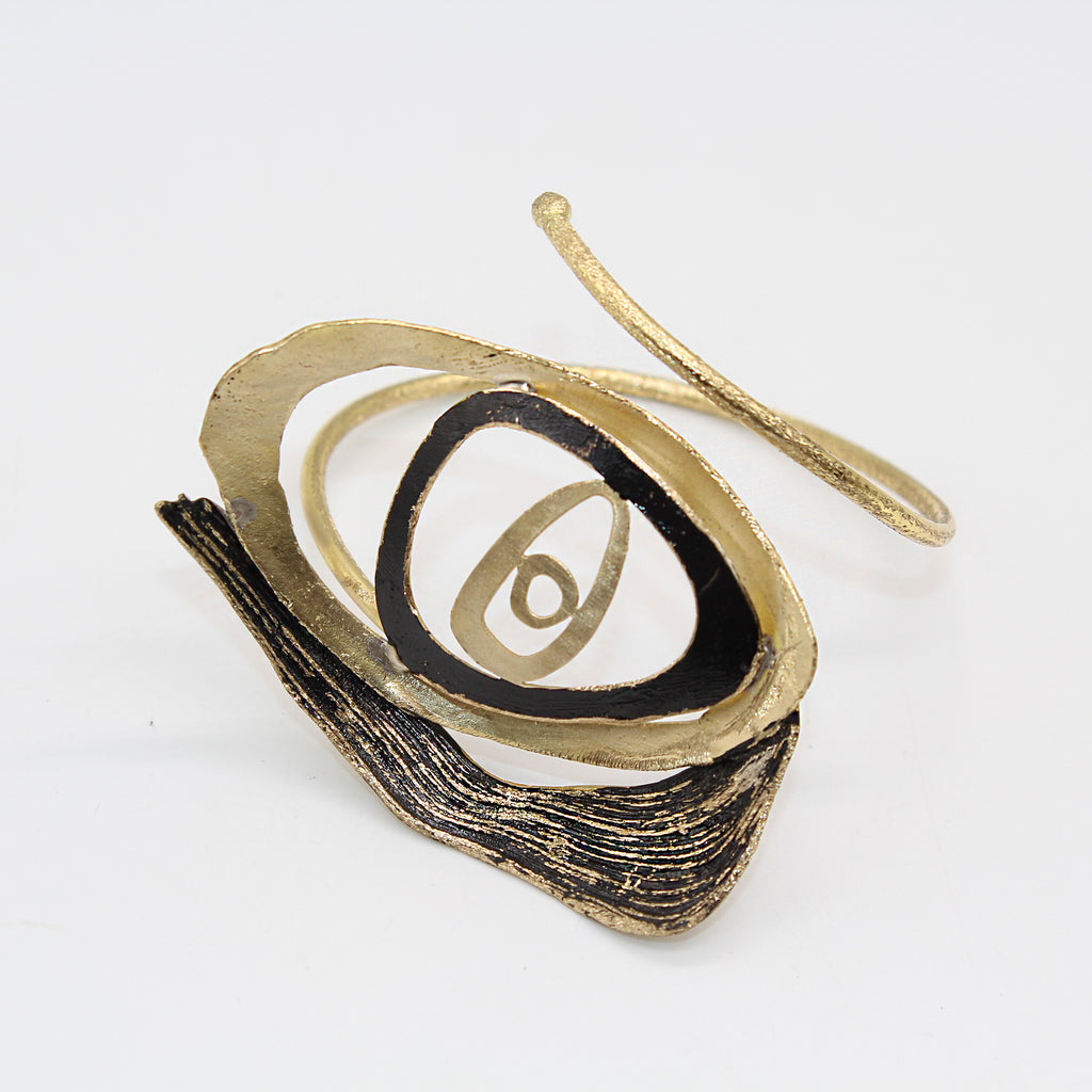 Opus Bangle Bronze Eye