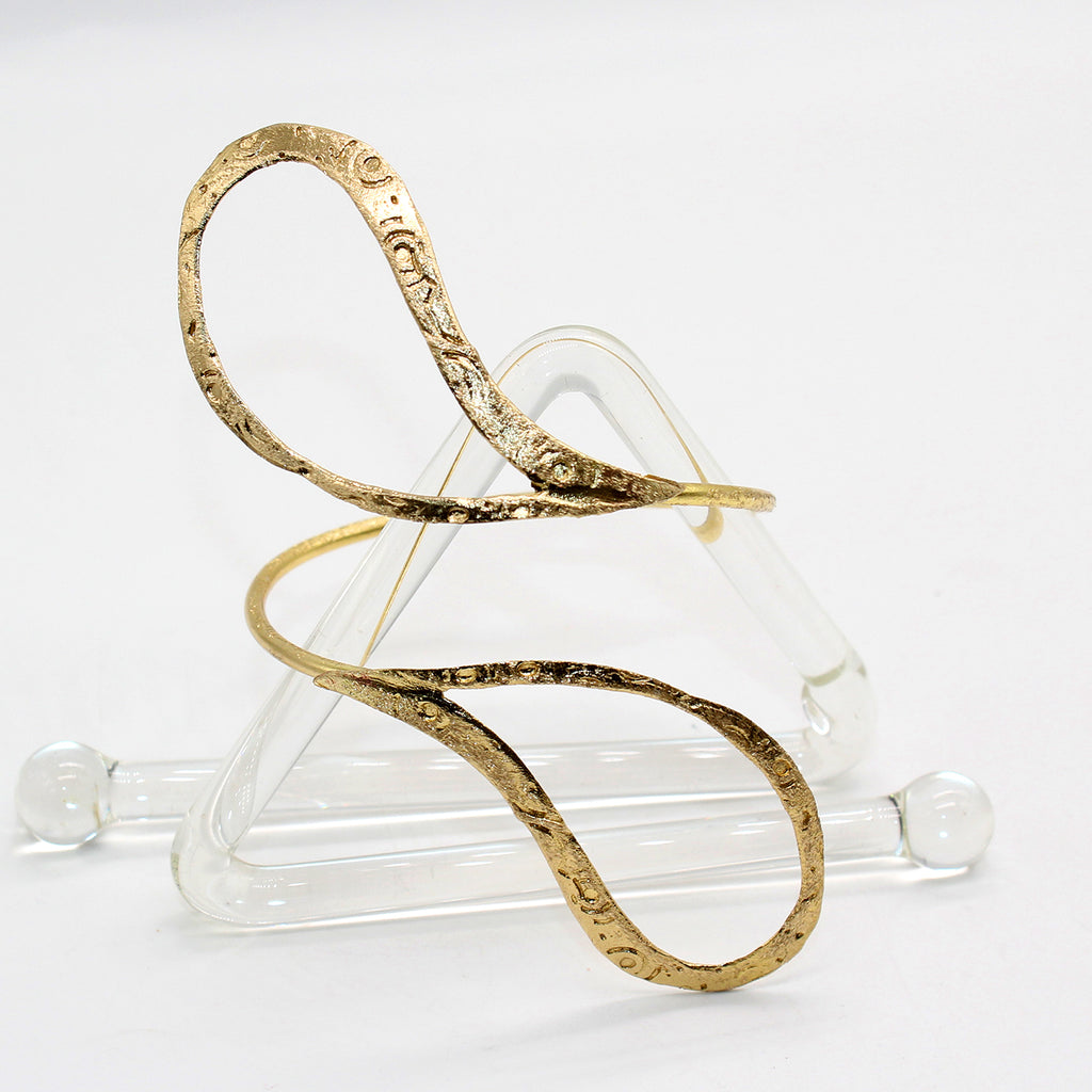 Opus Bangle Bronze Teardrop