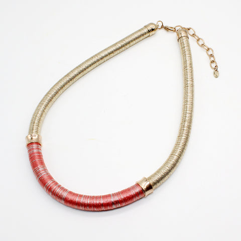 Fashion Jewellery Eliot Necklace Special Silk Thread