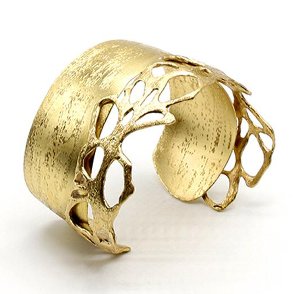 Opus Bangle Bronze Plain Filigree