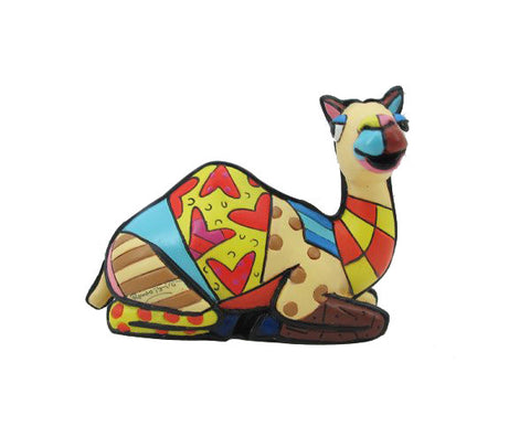 Romero Britto Mini Figurine Camel