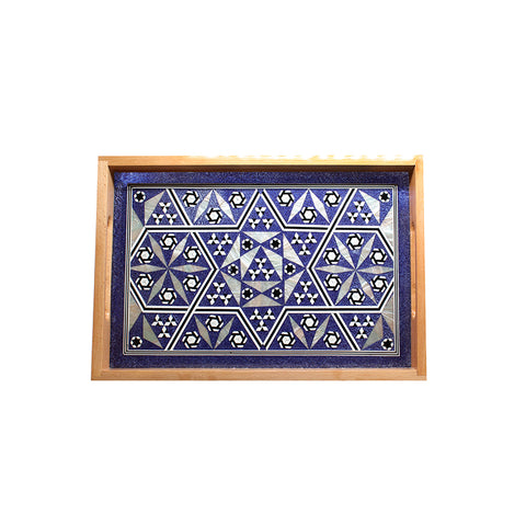 MOP Tray Rectangle Medium Blue