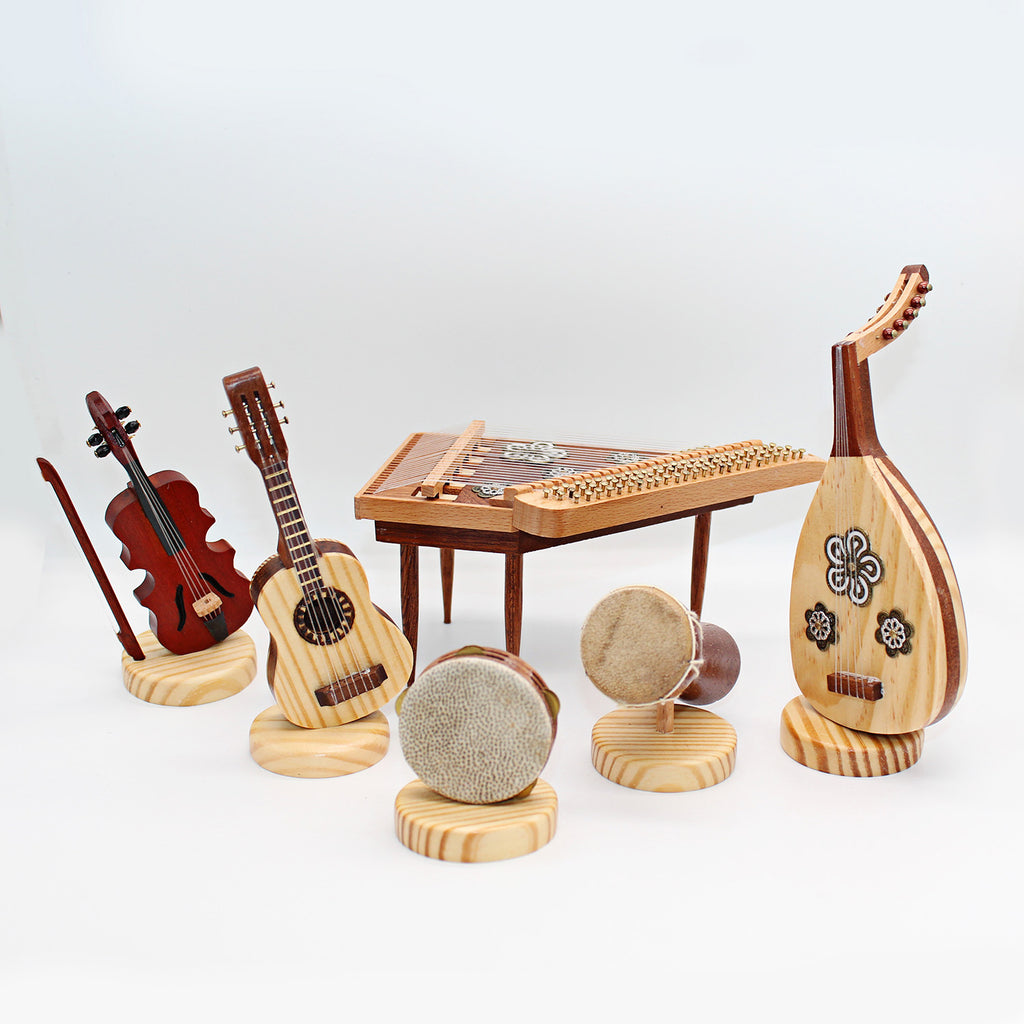 Gifts in UAE miniature musical instruments