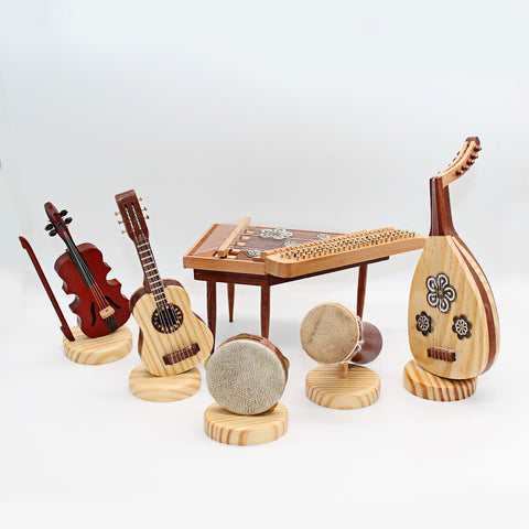 Musical Instruments Miniature Set