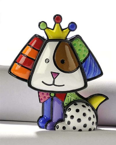 Romero Britto Mini Royalty Dog