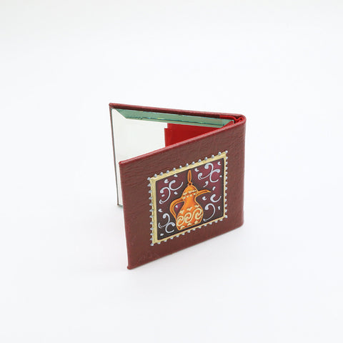 Hand Painted Compact Hand Mirror Gifts in UAE