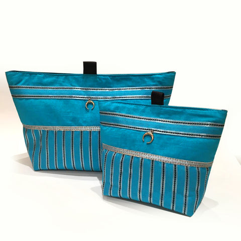 N Pouch Tota Turquoise Set