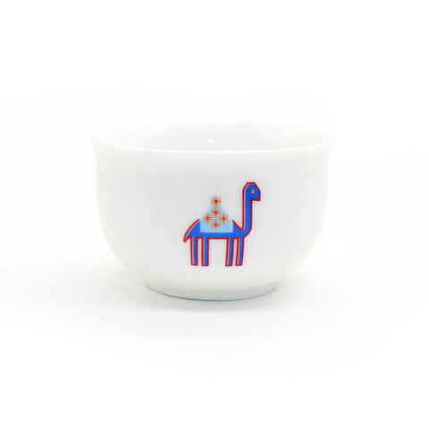Ceramic Handpainted Camel Coffee Cup