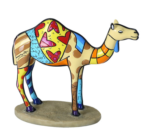 "Romero Britto Camel ""The Carioca"""