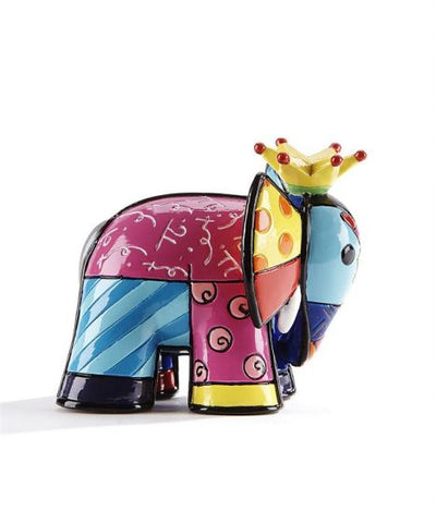 Romero Britto 3D Mini Figurine Elephant 1
