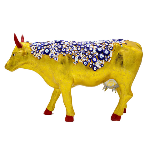 "Cow Parade ""The Evil Eye Cow"""