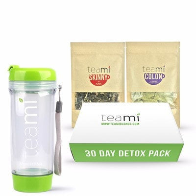 Teami Detox 30 Days Pack + Free Tumbler - Teami Blends
