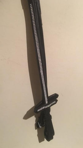 Crystal Bling Reins - ideal for dressage