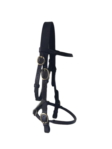 Rolled In Hand Bridle - equicraftltd