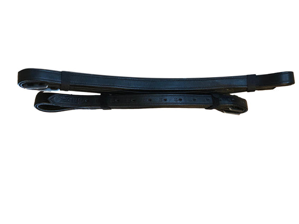 Soft touch bonded stirrup leathers: non stretch leathers for stirrup irons - equicraftltd