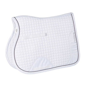 Caldene GP Saddle Pad White - equicraftltd