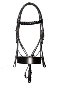 Heritage Hunter Bridle Complete With Reins - equicraftltd