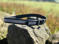 New: Patent Leather Crystal Belt - equicraftltd