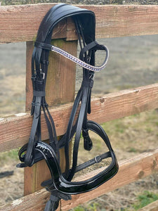 ANATOMIC BRIDLE WITH COMBINATION NOSEBAND - equicraftltd