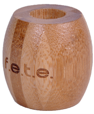 From Earth To Earth (f.e.t.e) Bamboo Toothbrush Holder