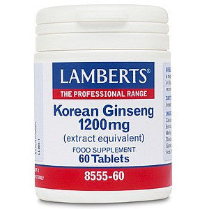 Lamberts Korean Ginseng 1200mg