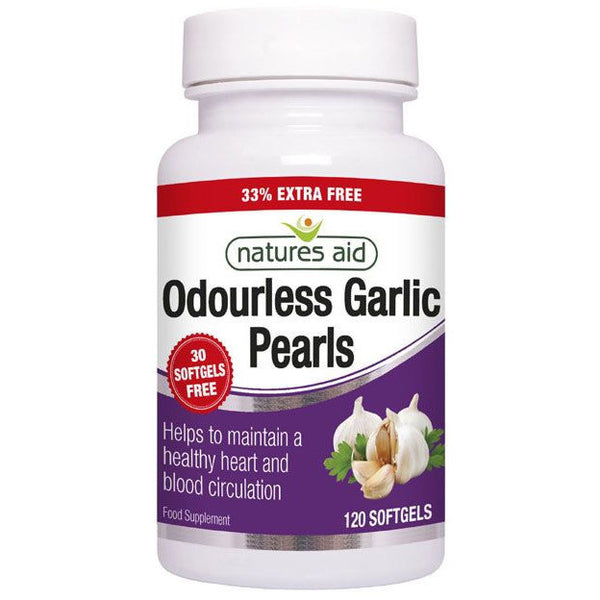 Natures Aid Odourless Garlic Pearls