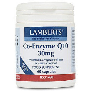 Lamberts Co-Enzyme Q10 30mg