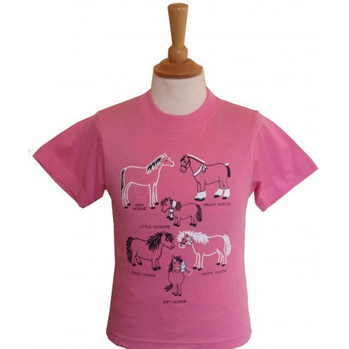 BCC All Kinds Of Horses T Shirt