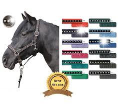 HKM Crystal Fashion Headcollar