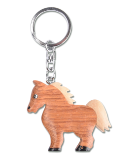 Waldhausen Timber Horse Key Ring