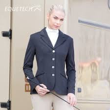 Equetech Ladies Jersey Show Jacket