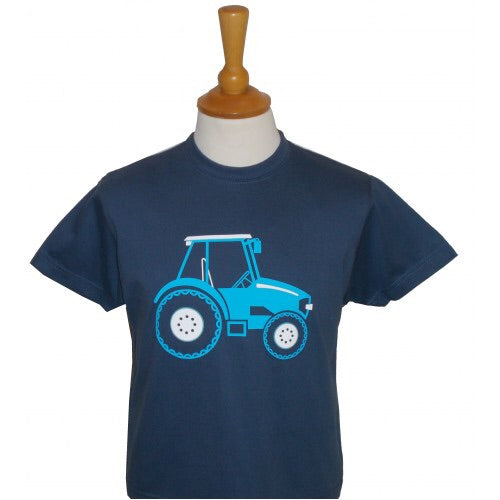 BCC Blue Tractor T shirt