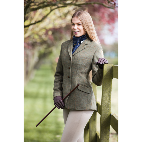 Equetech Claydon Tweed Competition Jacket