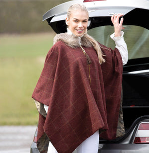 Equetech Red Kite Tweed Cape